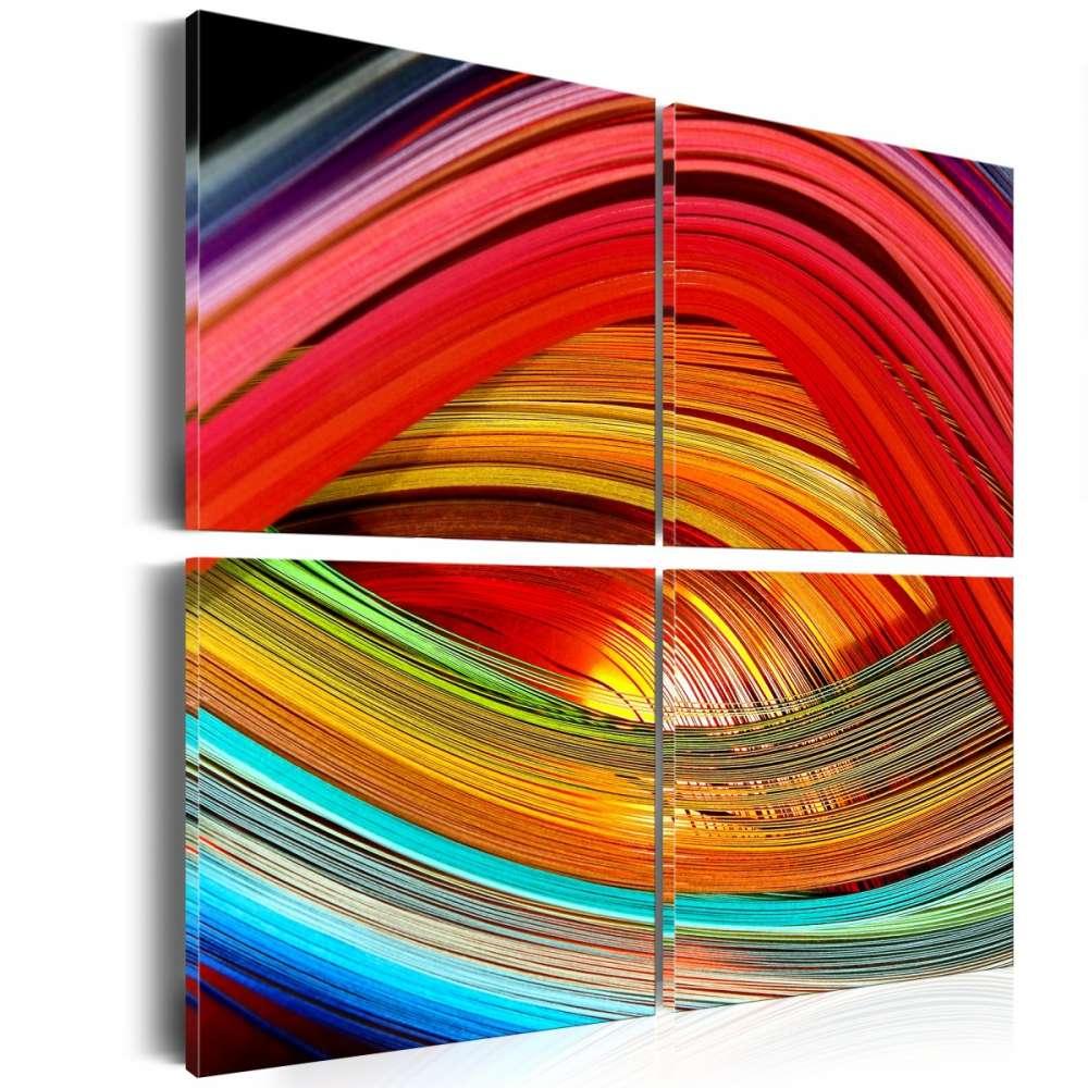 Obraz  Barwna odchłań
