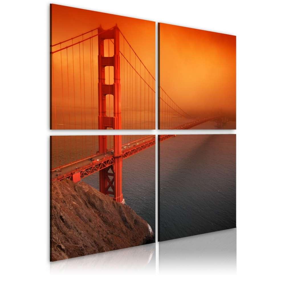 Obraz  San Francisco  Most Golden Gate