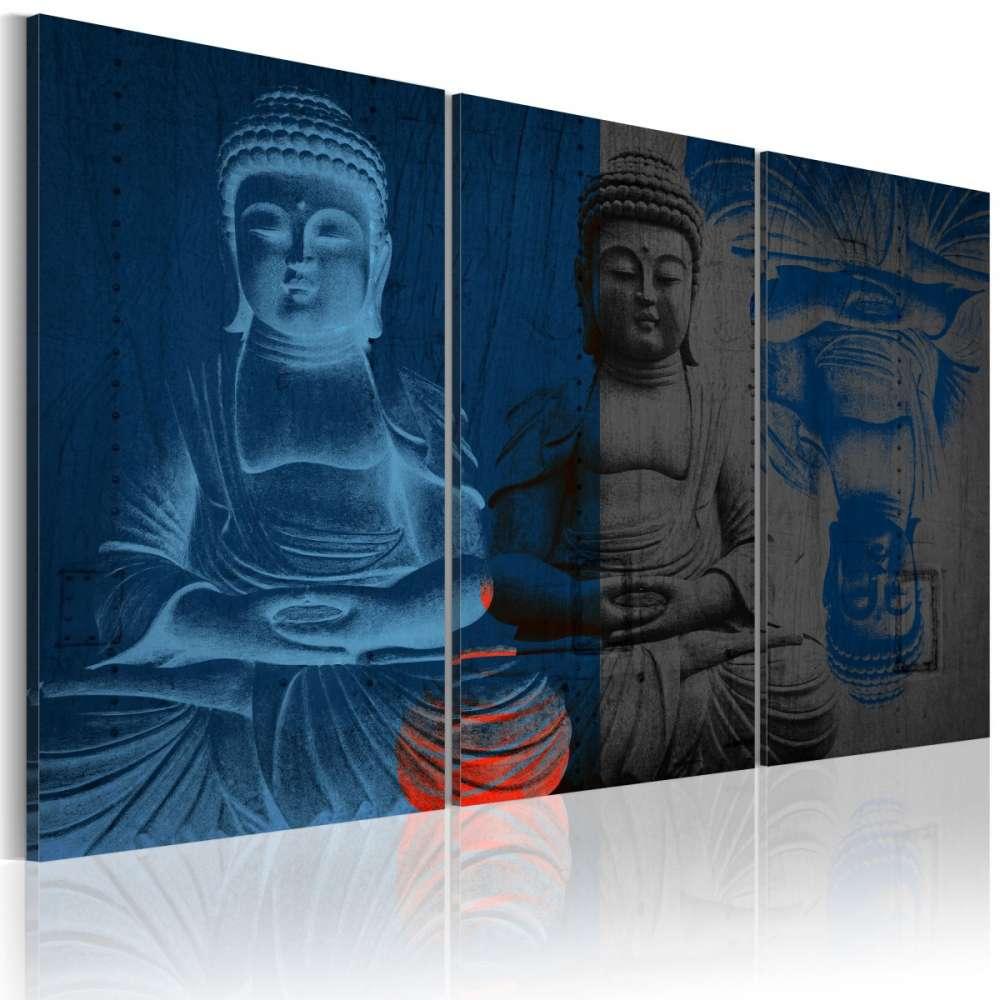 Obraz  Budda  rzeźba