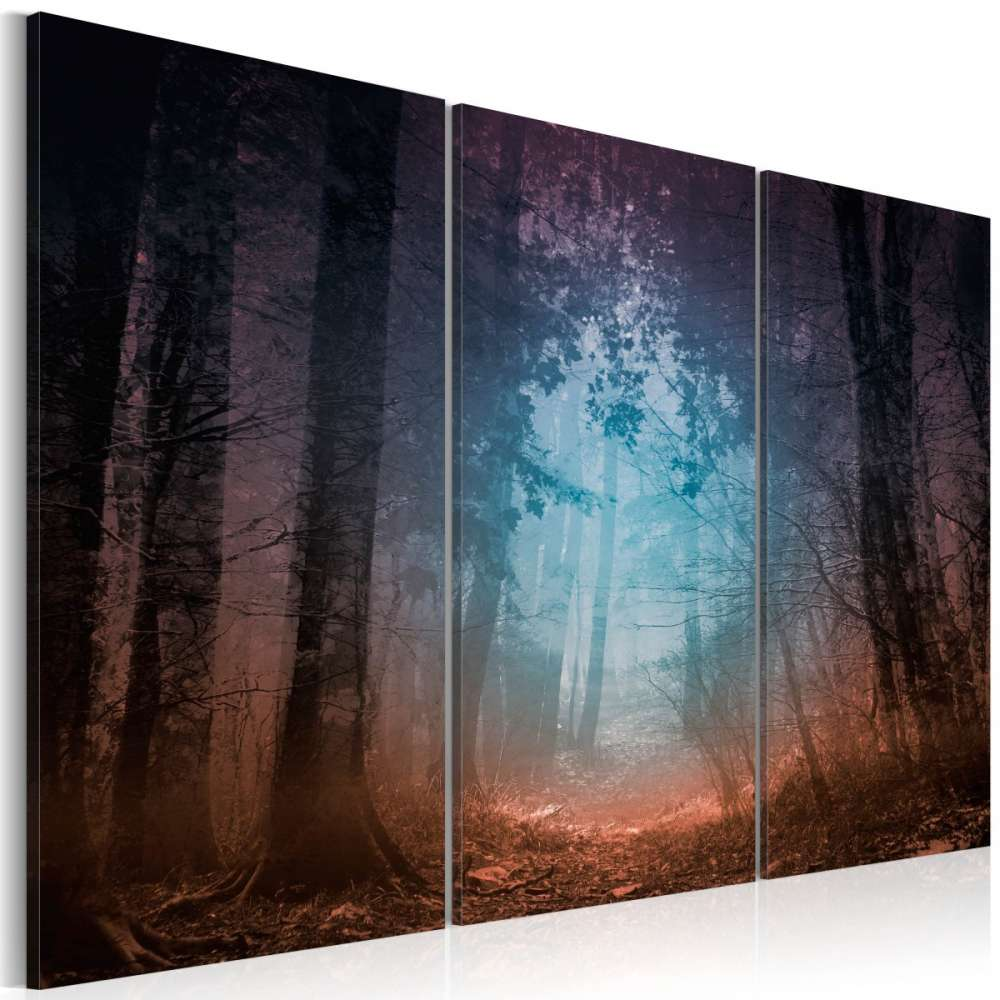 Obraz  Edge of the forest  triptych