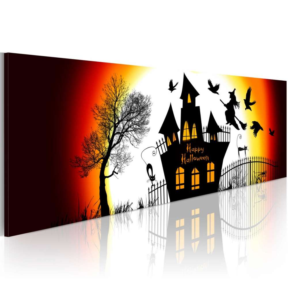 Obraz  Czarne Halloween