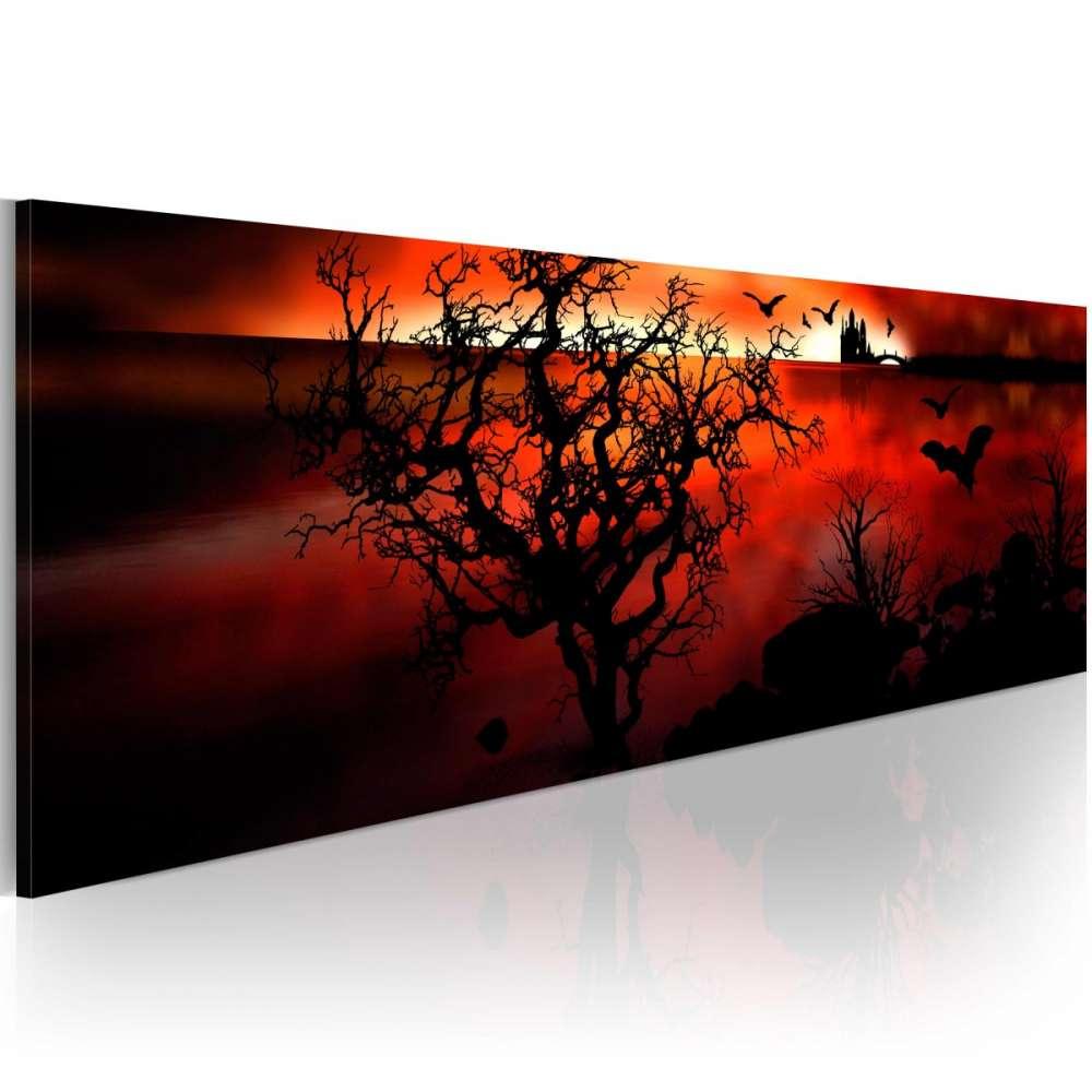 Obraz  Czarne mokradła