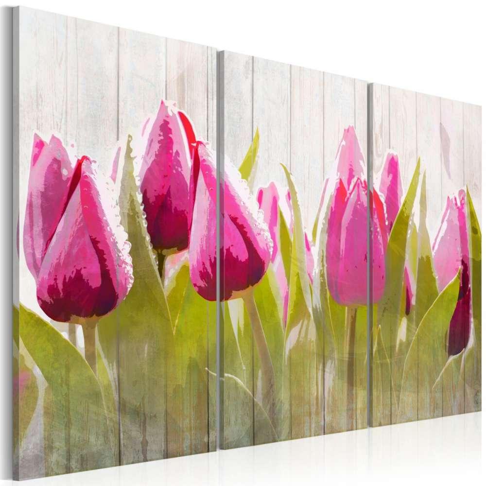 Obraz  Wiosenny bukiet tulipanów