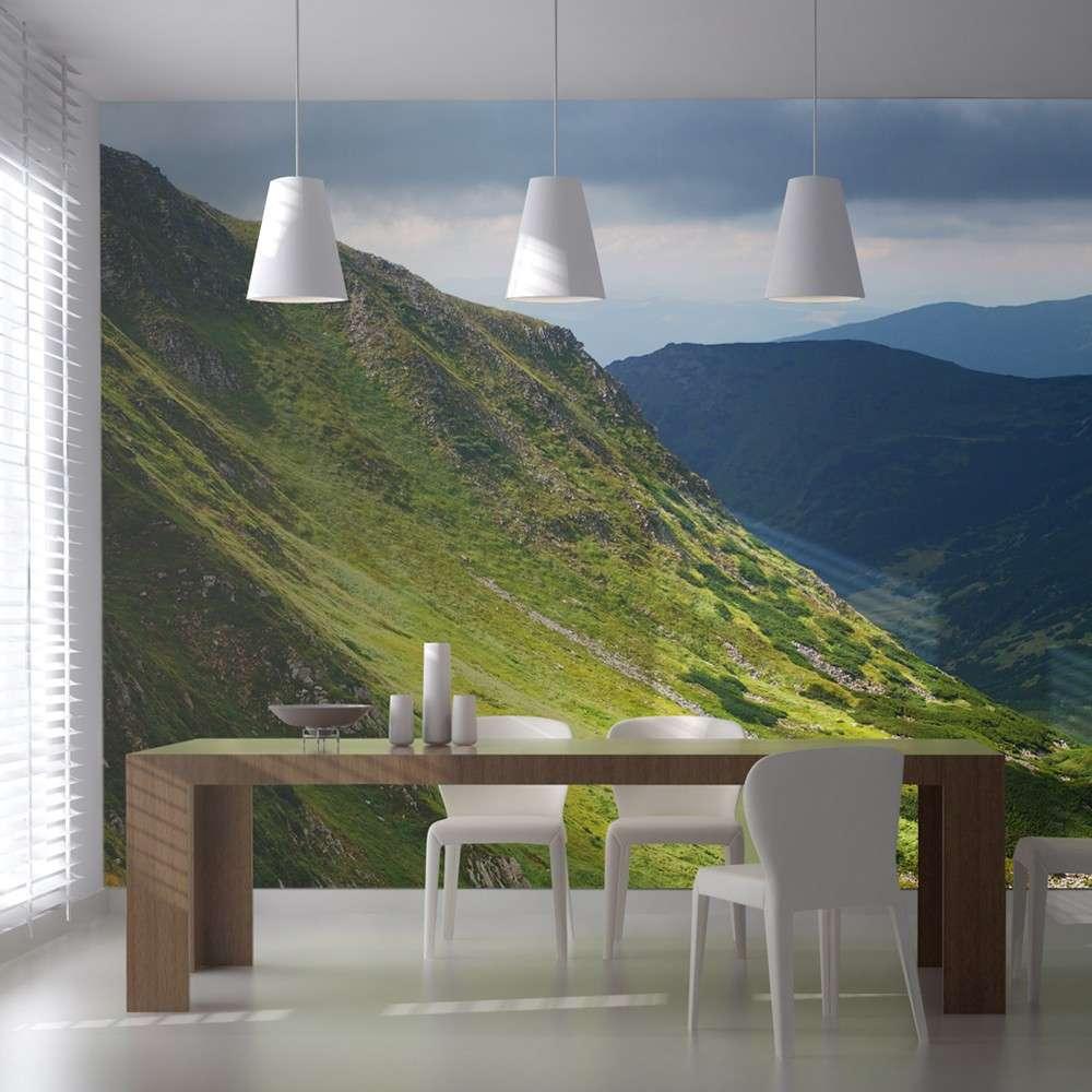 Fototapeta XXL  Green mountain landscape