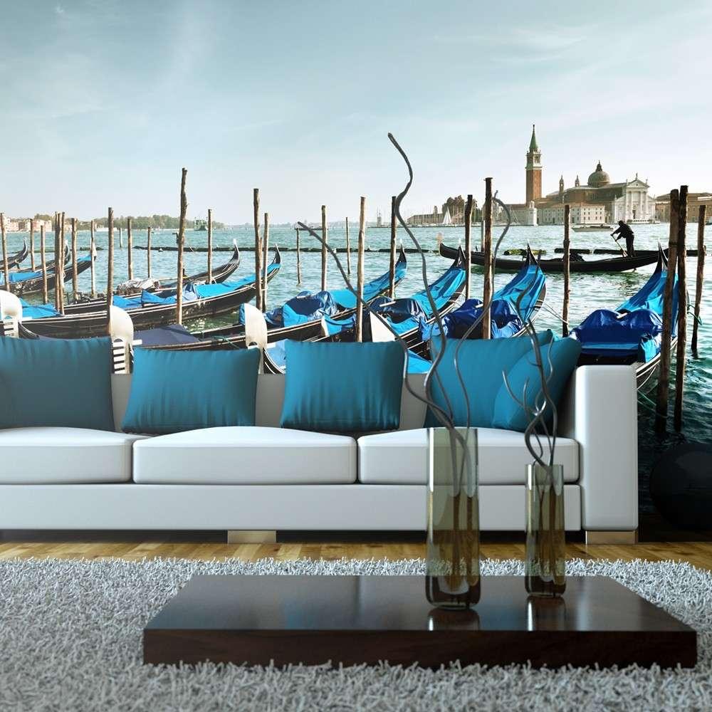 Fototapeta XXL  Gondole na Canal Grande, Wenecja